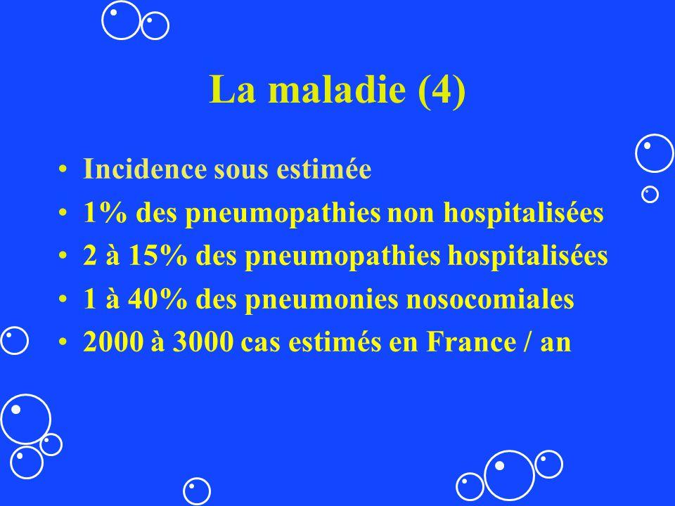 La maladie (4) Incidence sous estimée
