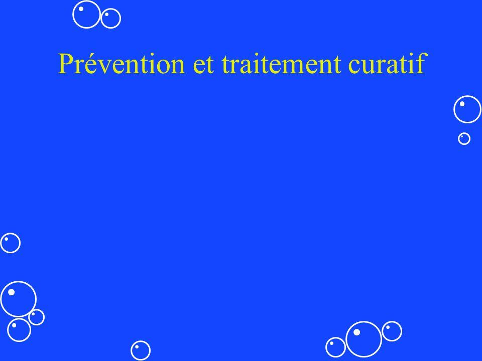 Prévention et traitement curatif
