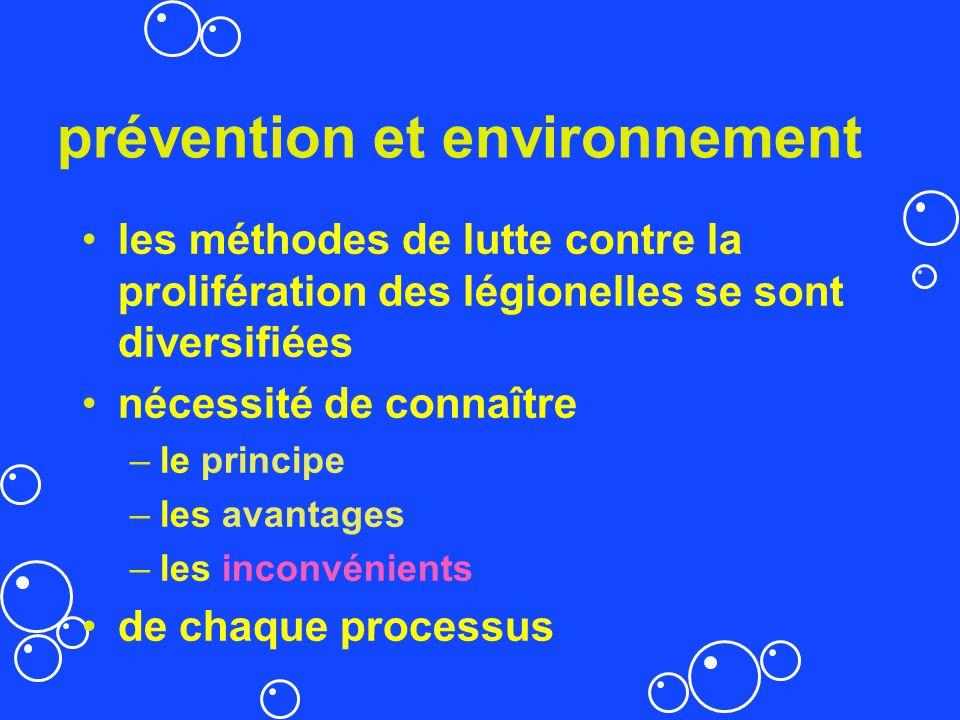 prévention et environnement