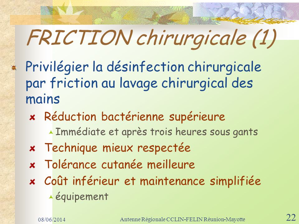 FRICTION chirurgicale (1)
