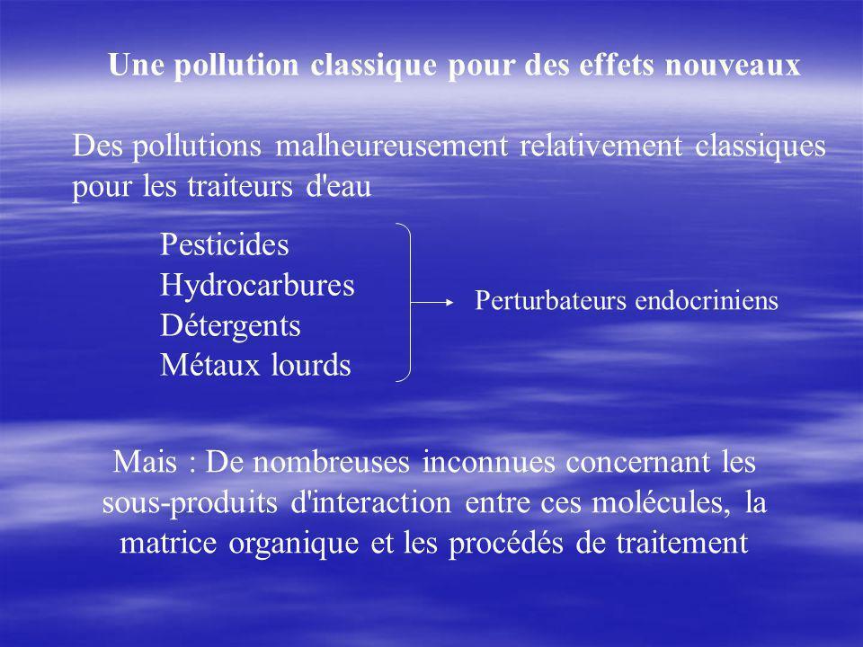 Une pollution classique pour des effets nouveaux