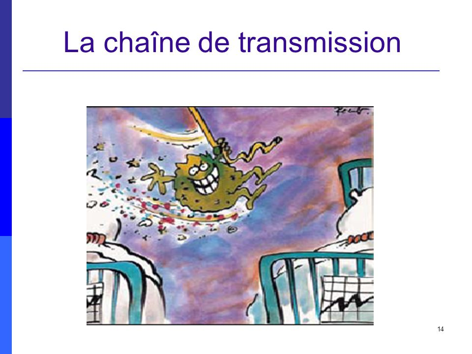 La chaîne de transmission