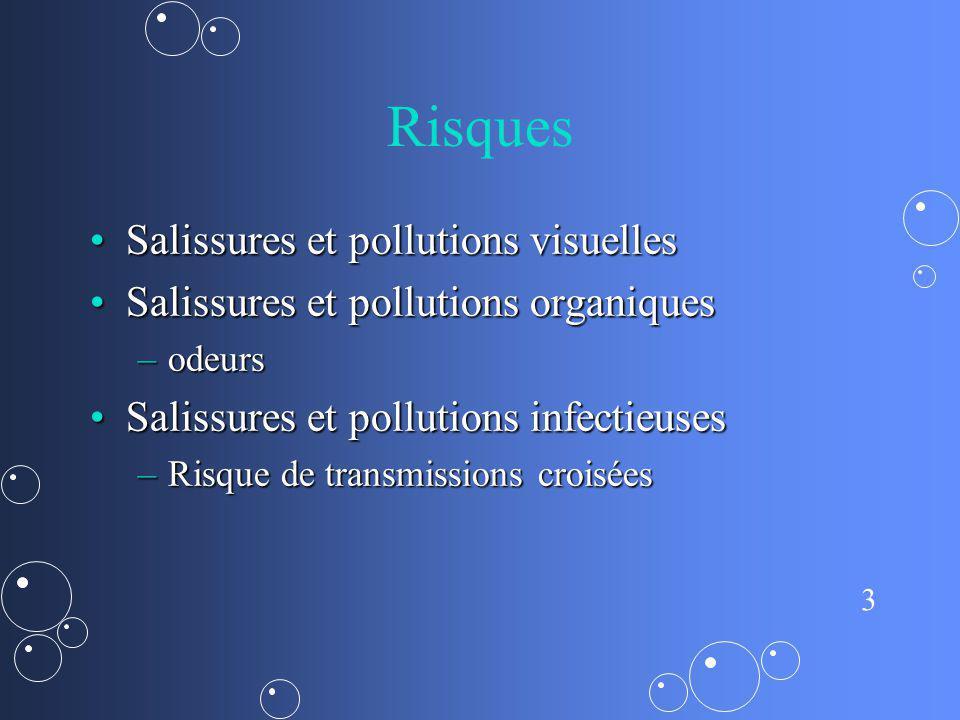 Risques Salissures et pollutions visuelles