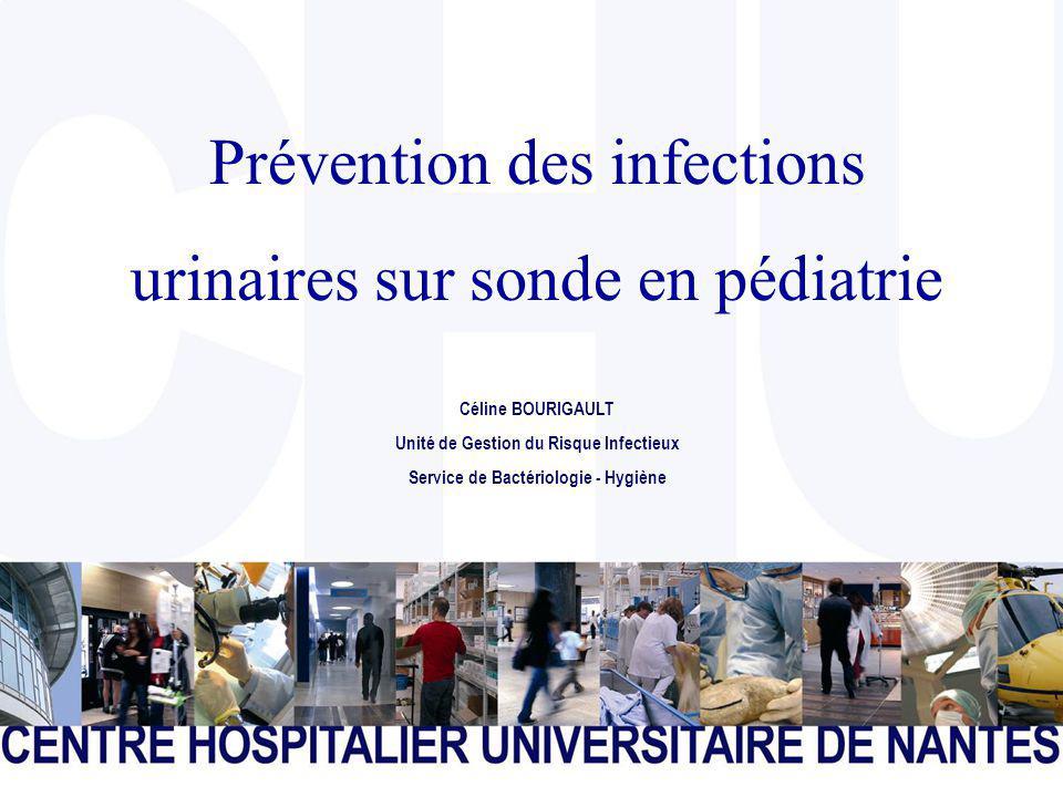 Prévention des infections urinaires sur sonde en pédiatrie