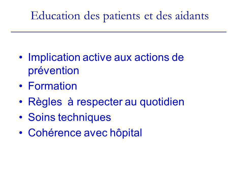 Education des patients et des aidants