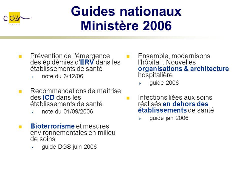 Guides nationaux Ministère 2006