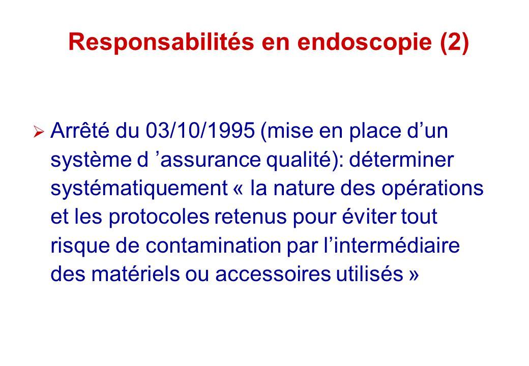 Responsabilités en endoscopie (2)