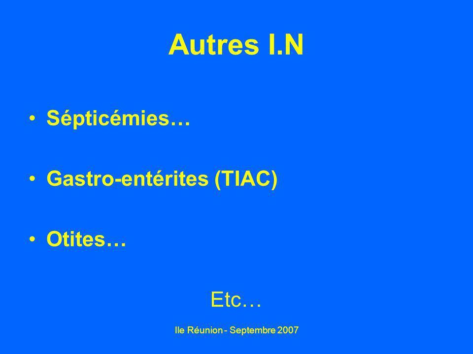 Ile Réunion - Septembre 2007