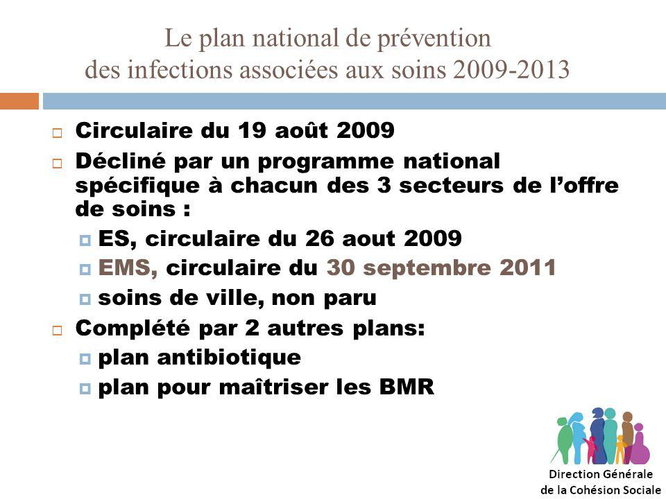 Le plan national de prévention des infections associées aux soins 2009-2013