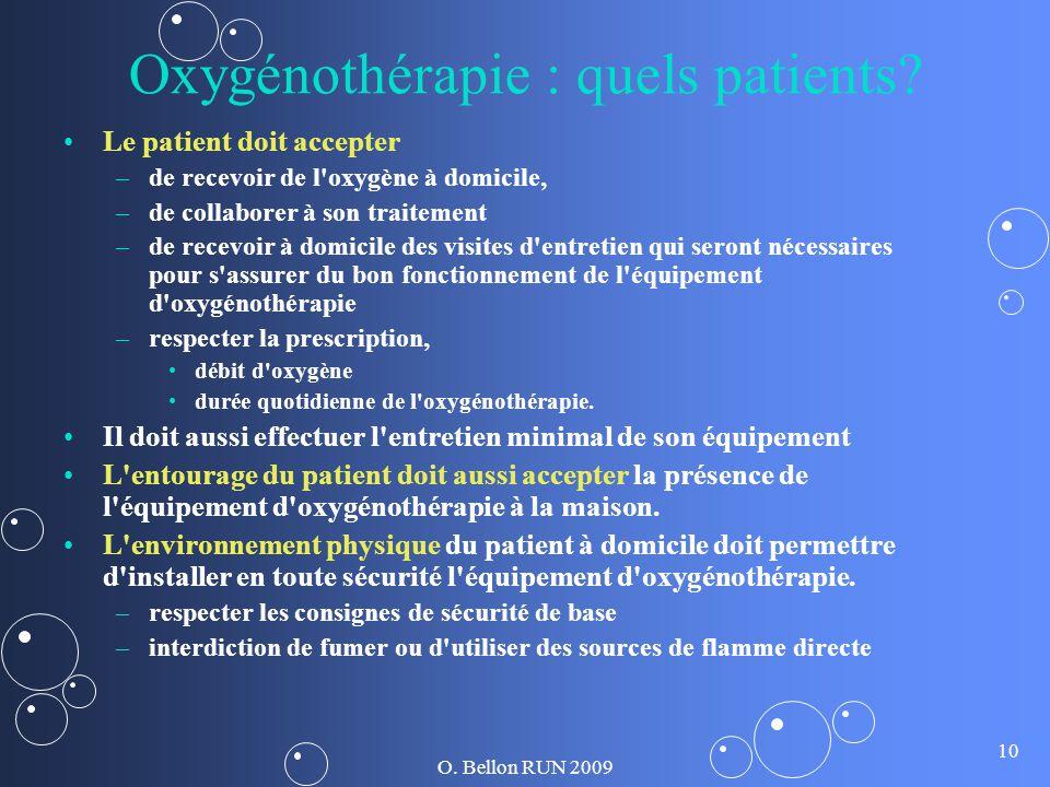 Oxygénothérapie : quels patients