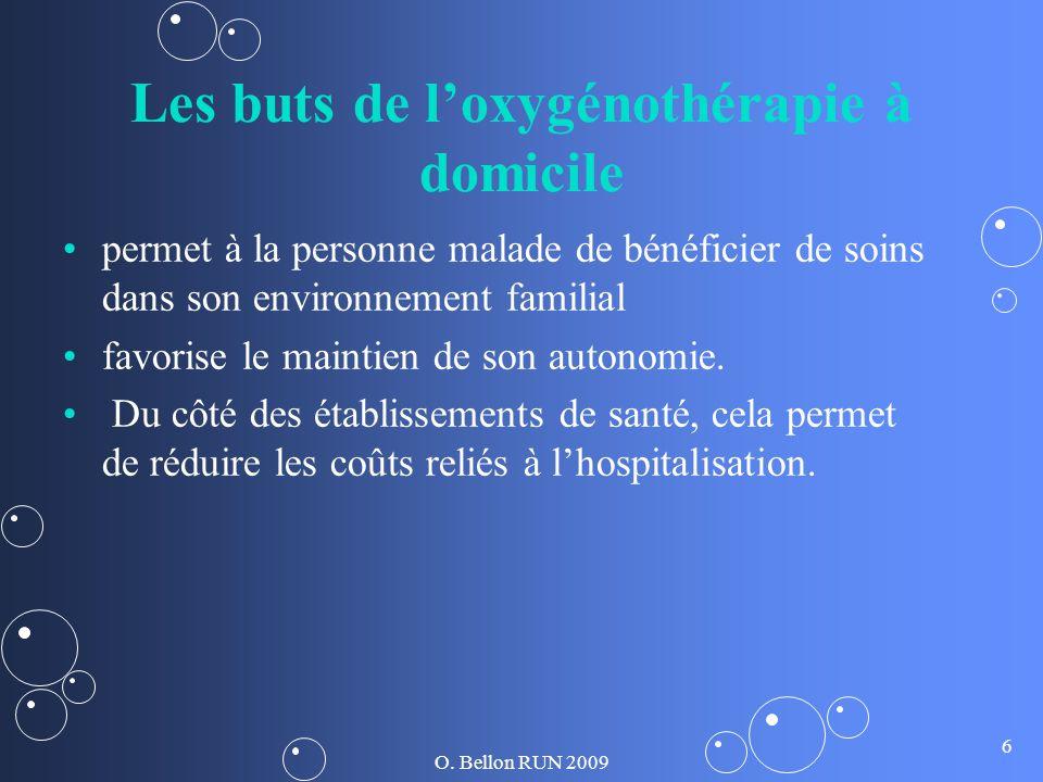 Les buts de l'oxygénothérapie à domicile