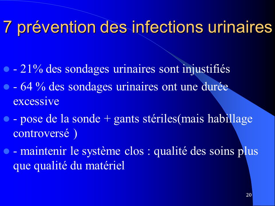7 prévention des infections urinaires