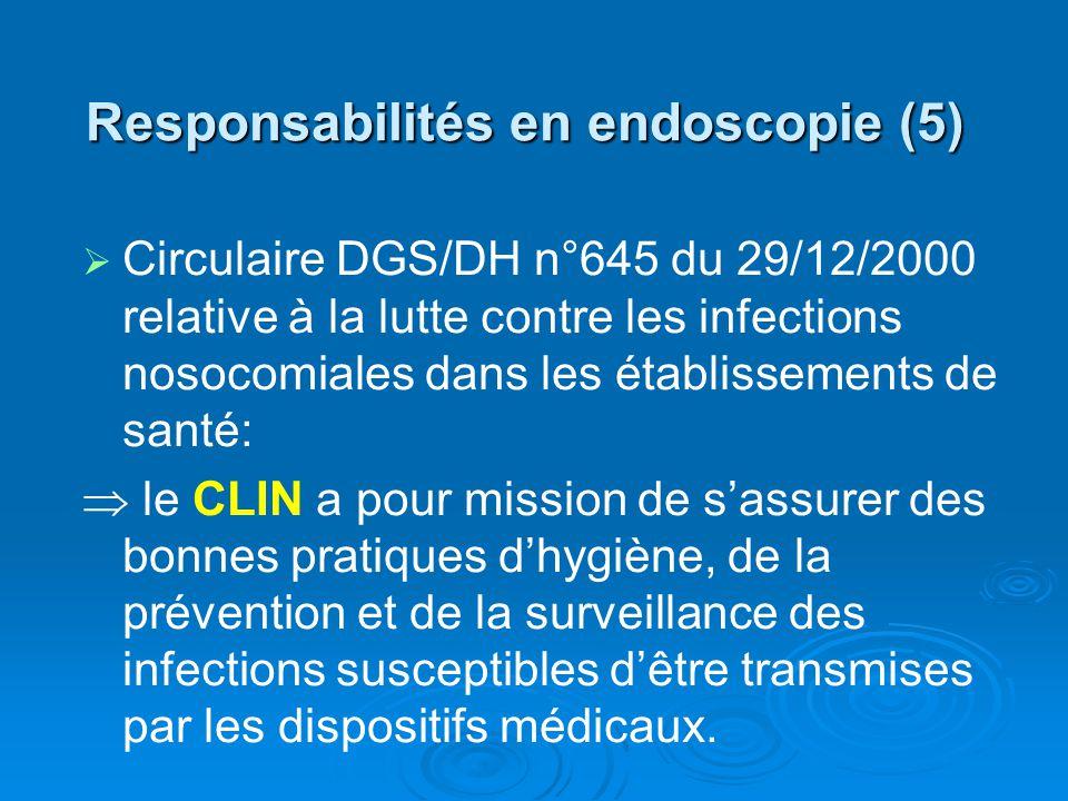 Responsabilités en endoscopie (5)