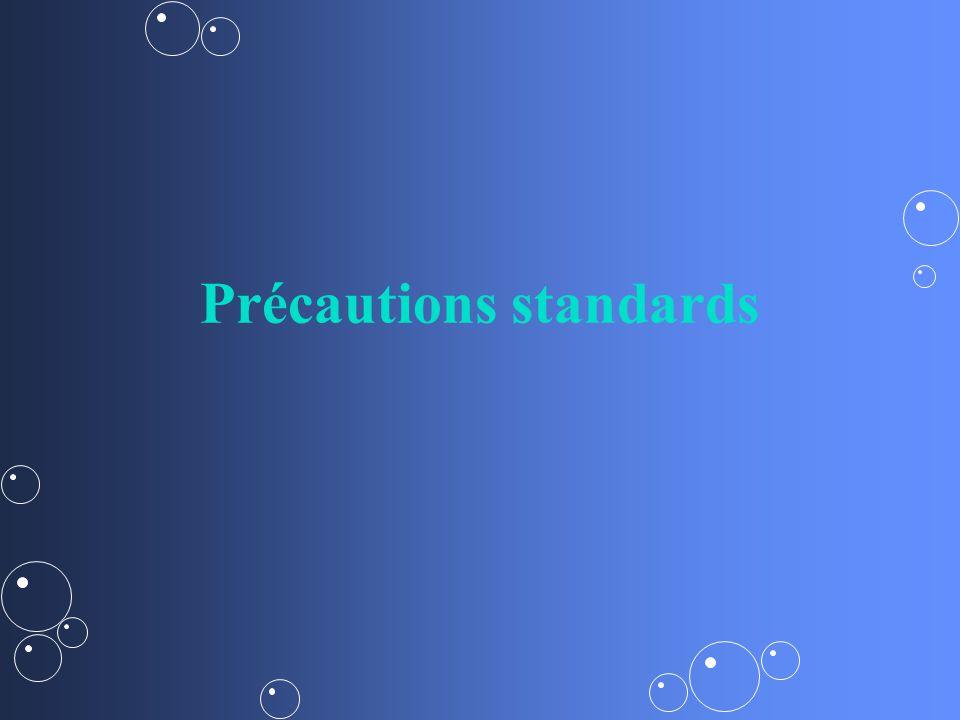 Précautions standards