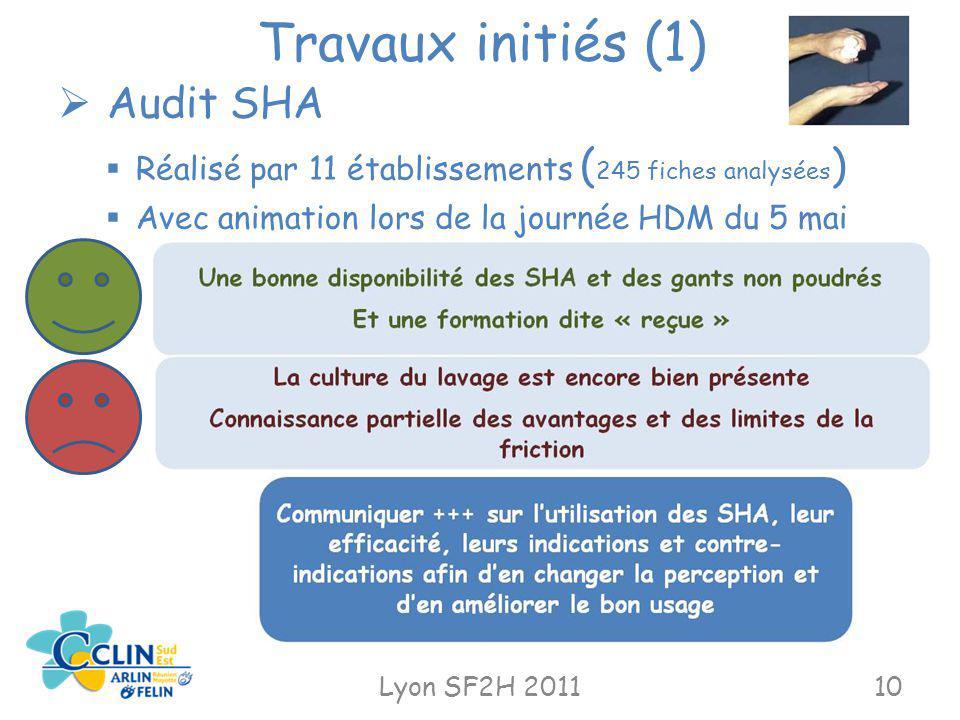 Travaux initiés (1) Audit SHA