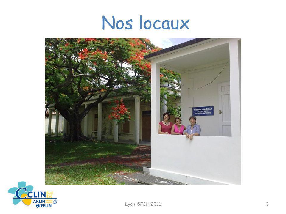 Nos locaux Lyon SF2H 2011