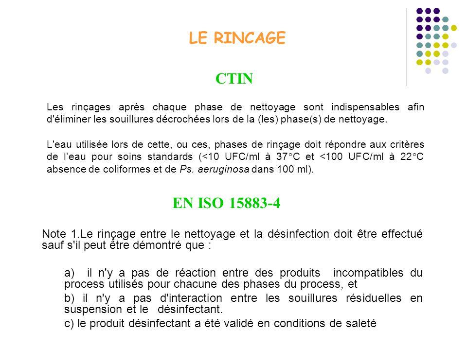 LE RINCAGE CTIN.