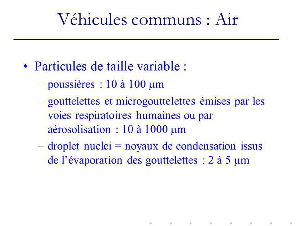 Véhicules communs : Air