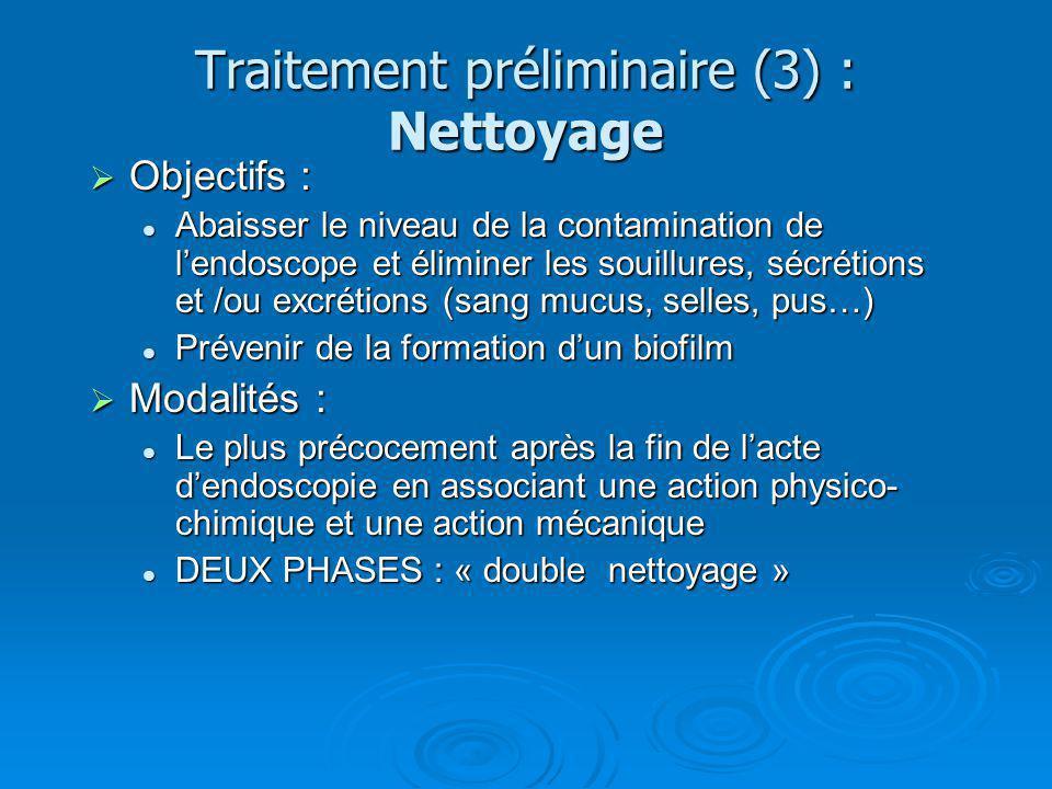 Traitement préliminaire (3) : Nettoyage