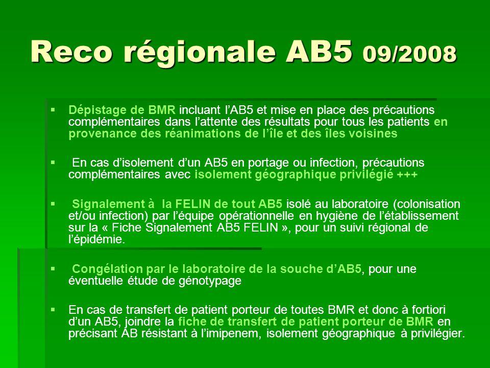 Reco régionale AB5 09/2008