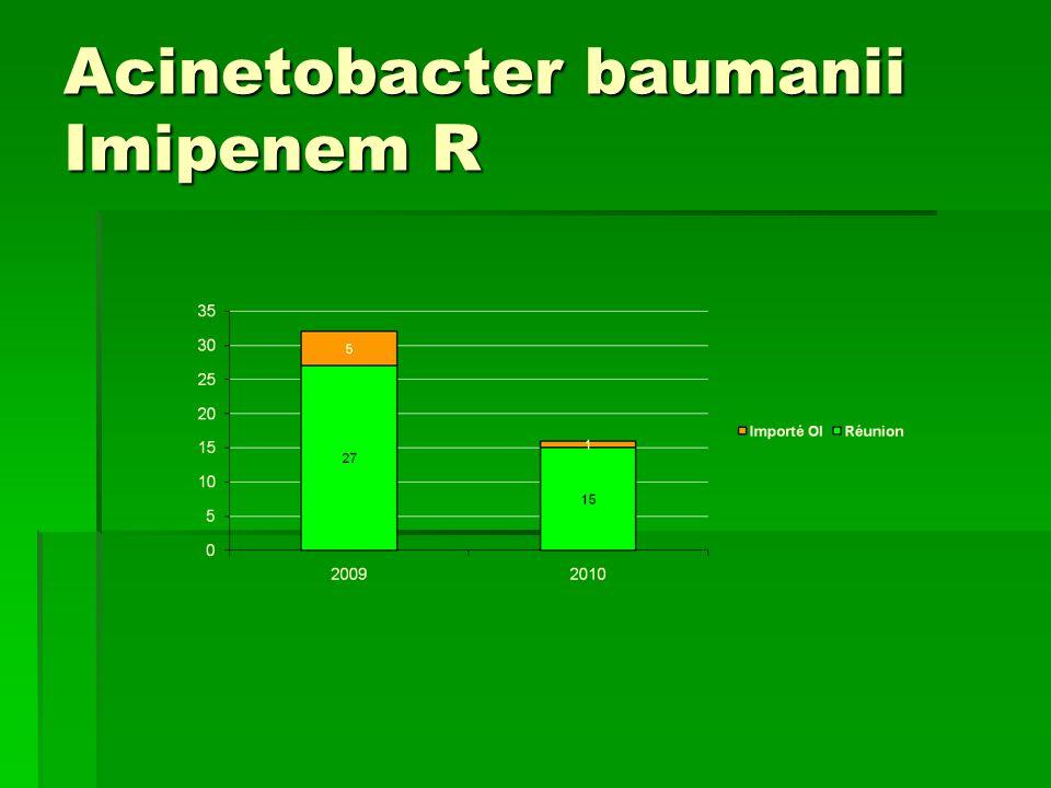 Acinetobacter baumanii Imipenem R