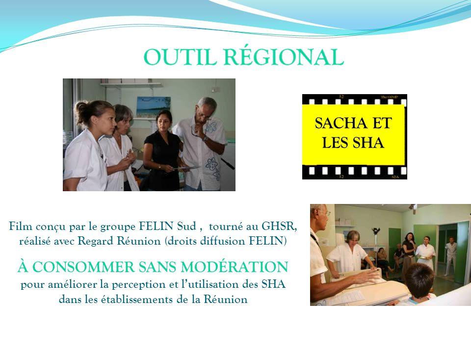 SACHA ET LES SHA. Film conçu par le groupe FELIN Sud , tourné au GHSR, réalisé avec Regard Réunion (droits diffusion FELIN)