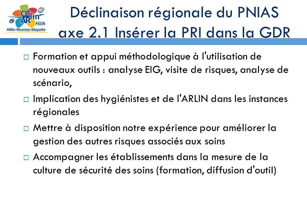 Déclinaison régionale du PNIAS axe 2.1 Insérer la PRI dans la GDR