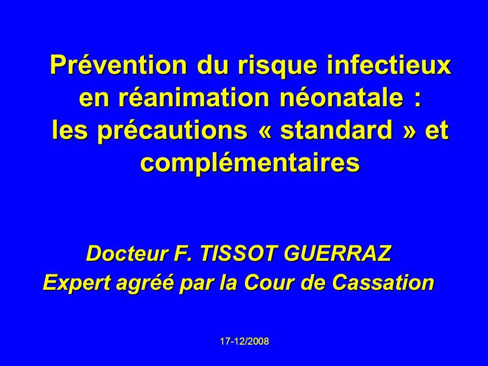 Docteur F. TISSOT GUERRAZ Expert agréé par la Cour de Cassation
