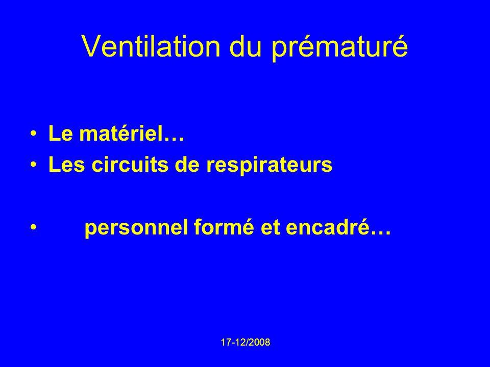 Ventilation du prématuré