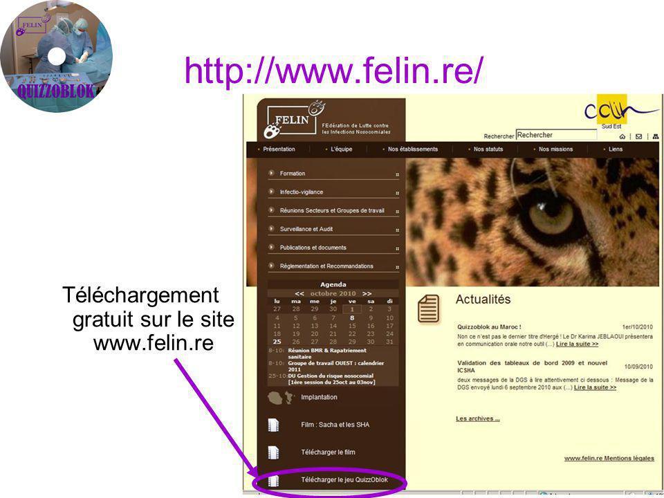 Téléchargement gratuit sur le site www.felin.re