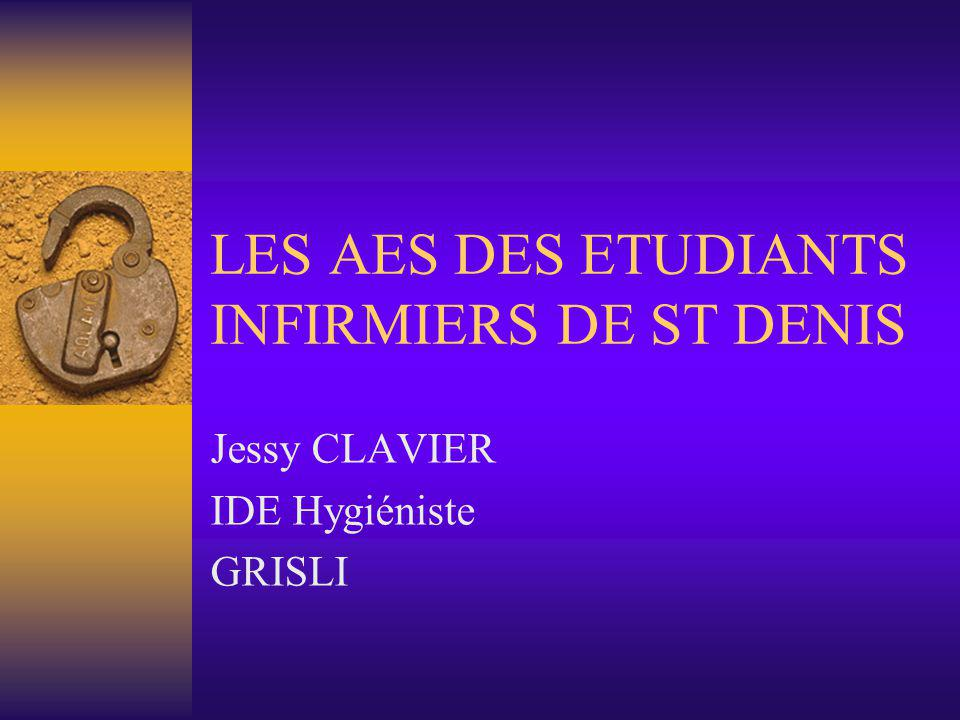LES AES DES ETUDIANTS INFIRMIERS DE ST DENIS