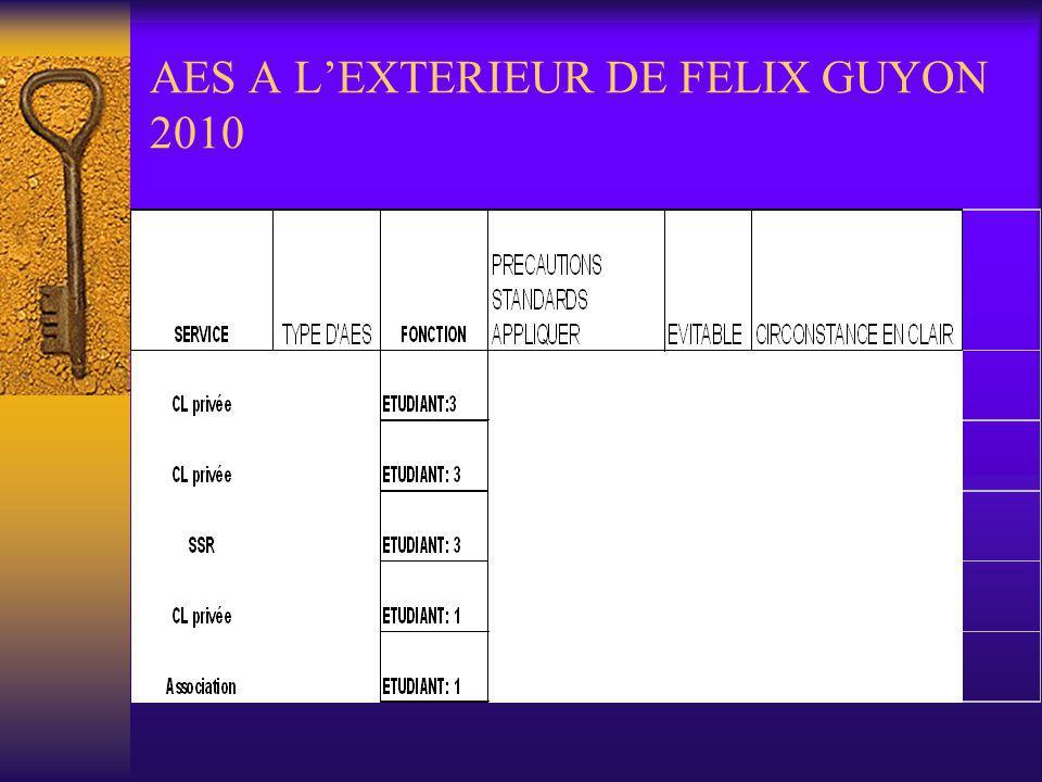 AES A L'EXTERIEUR DE FELIX GUYON 2010