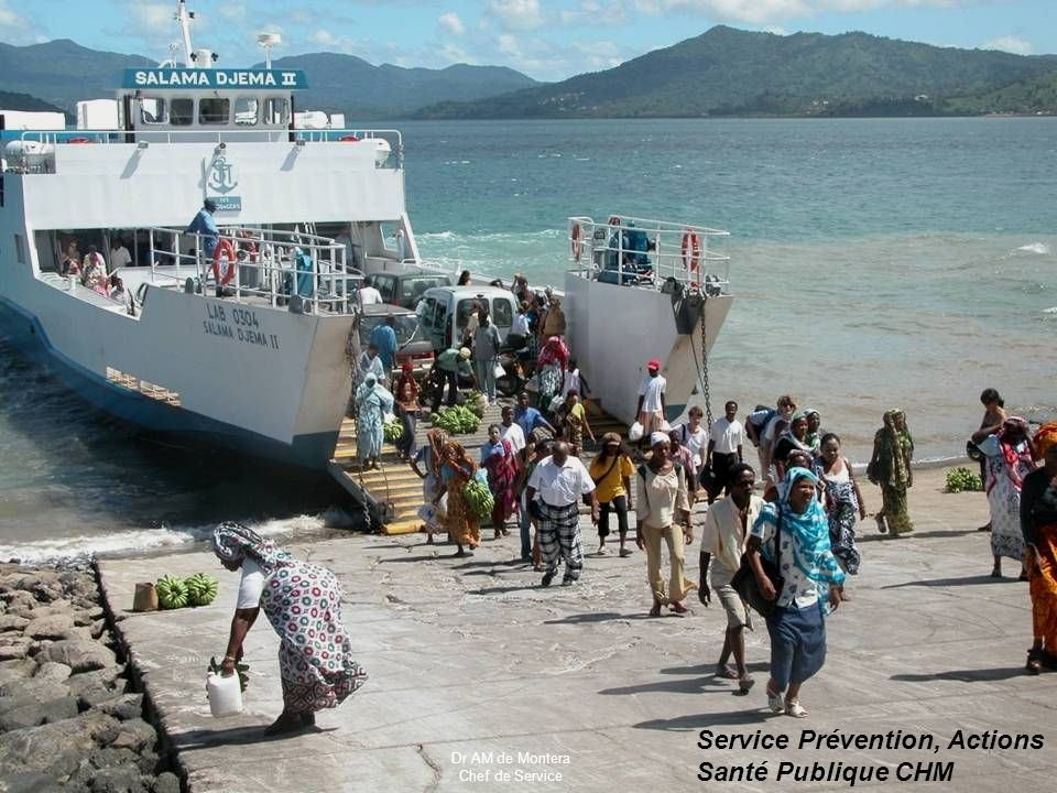 CLAT de Mayotte PRINOI Service Prévention, Actions Santé Publique CHM