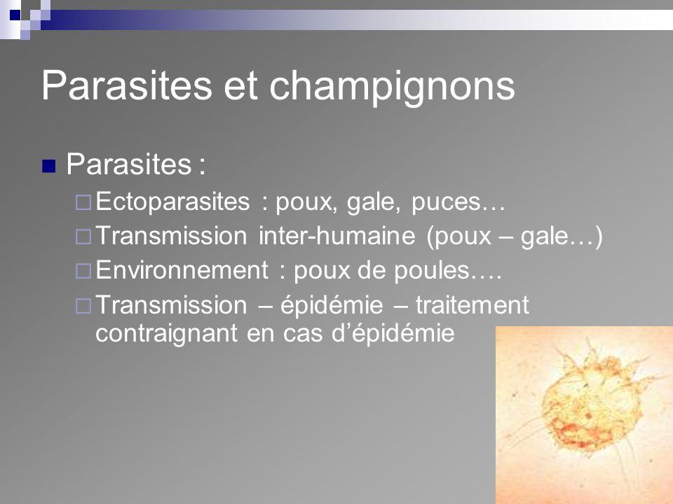 Parasites et champignons