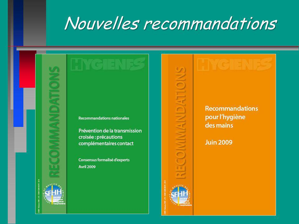 Nouvelles recommandations
