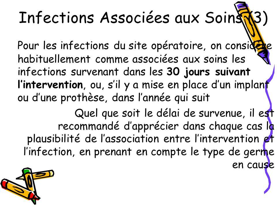 Infections Associées aux Soins (3)