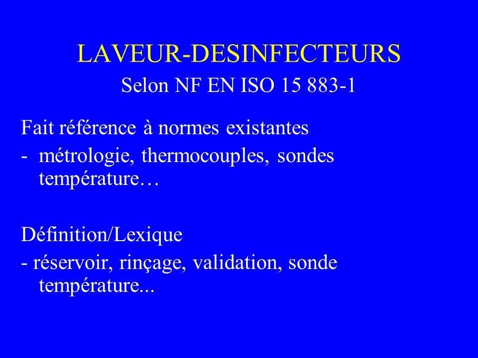 LAVEUR-DESINFECTEURS