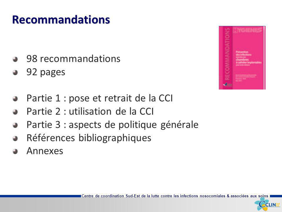 Recommandations 98 recommandations 92 pages