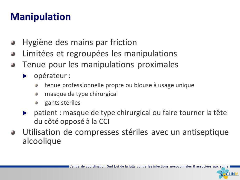 Manipulation Hygiène des mains par friction