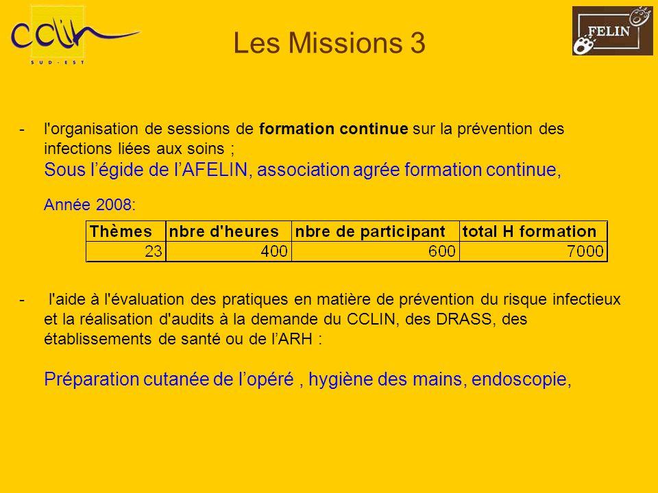 Les Missions 3