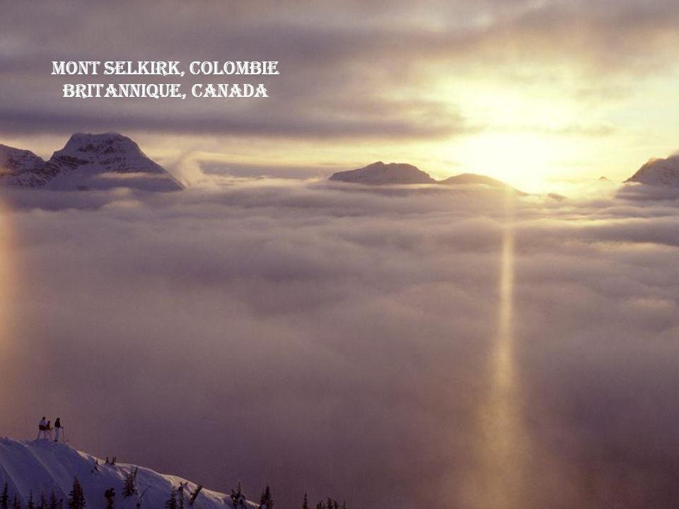 Mont Selkirk, Colombie Britannique, Canada