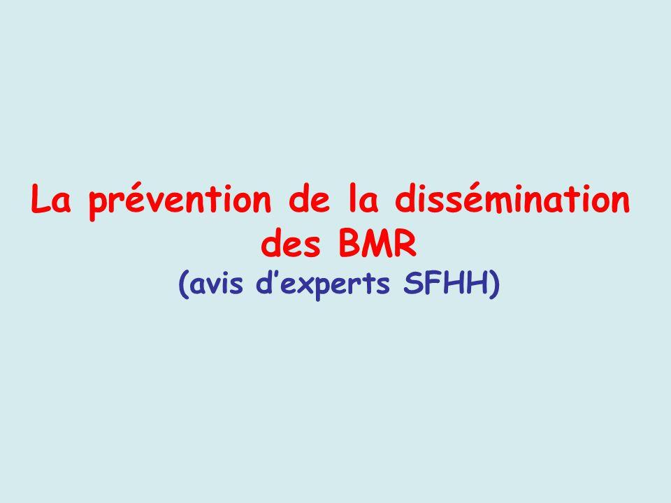 La prévention de la dissémination