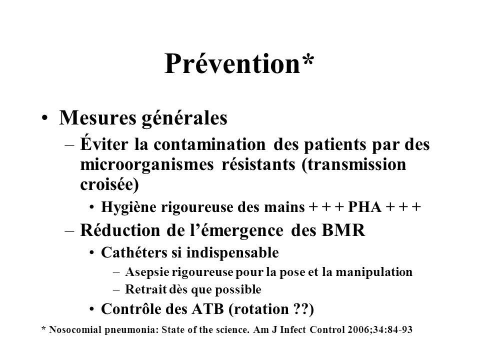 Prévention* Mesures générales