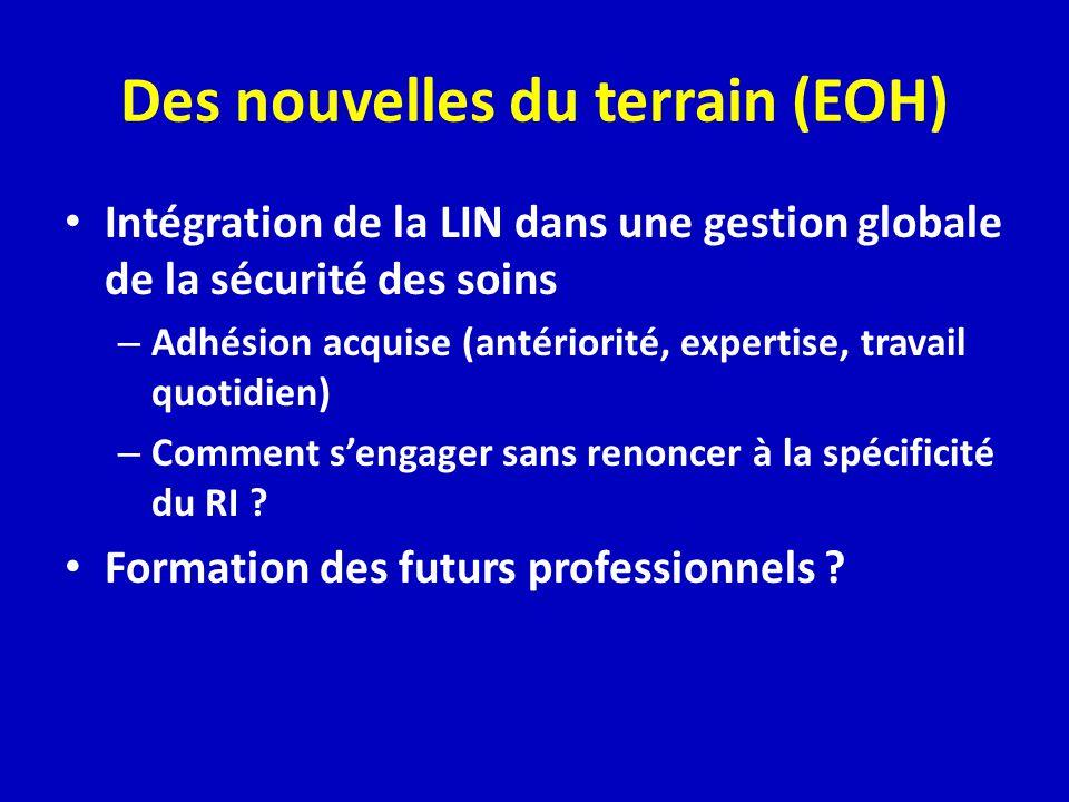 Des nouvelles du terrain (EOH)