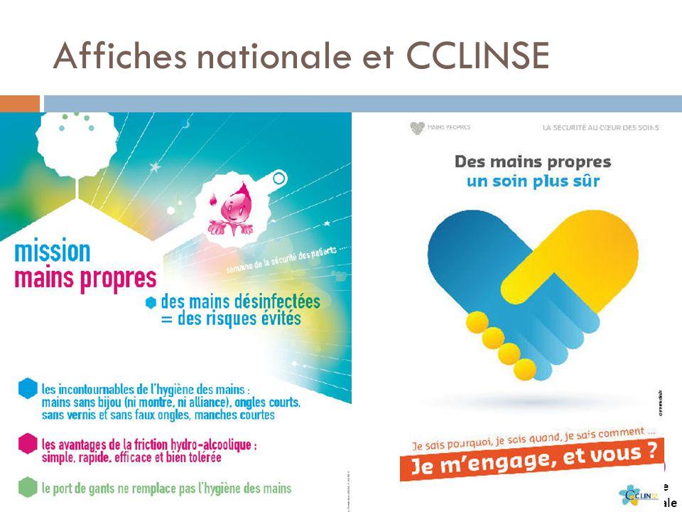 Affiches nationale et CCLINSE