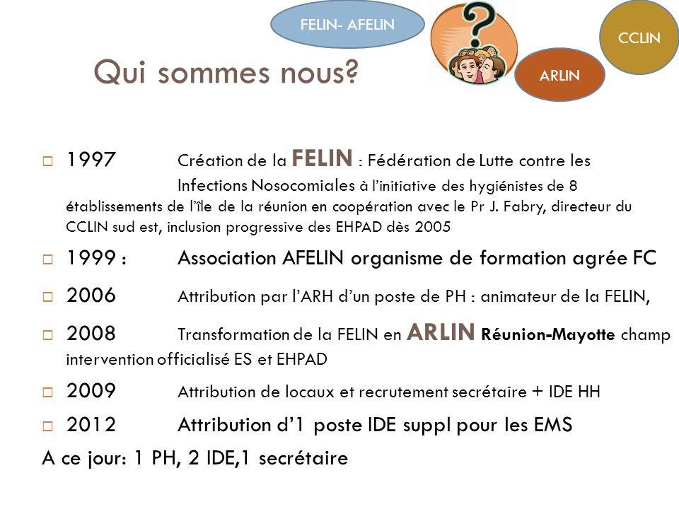 FELIN- AFELIN CCLIN. Qui sommes nous ARLIN.