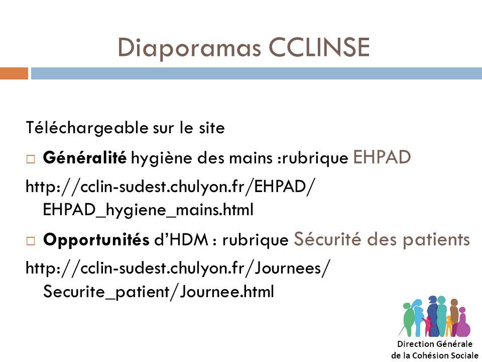 Diaporamas CCLINSE Téléchargeable sur le site