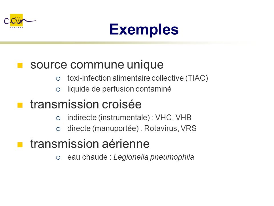 Exemples source commune unique transmission croisée