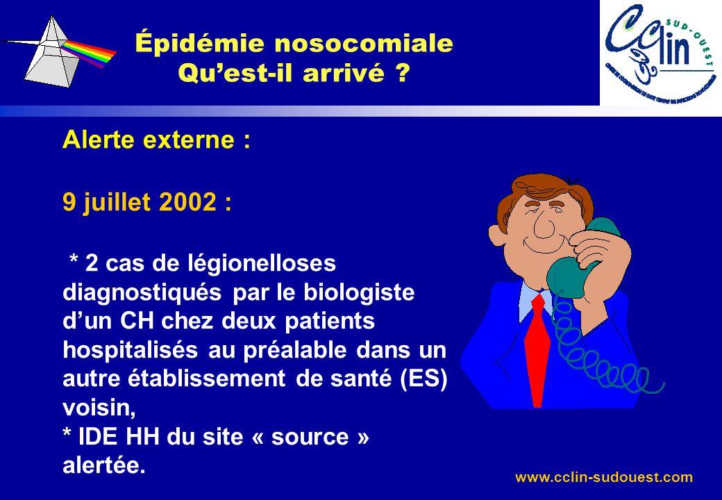 Épidémie nosocomiale Qu'est-il arrivé