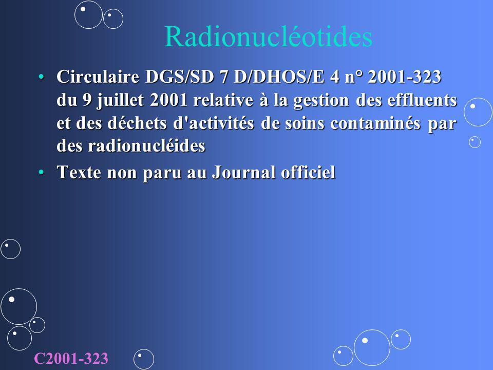 Radionucléotides